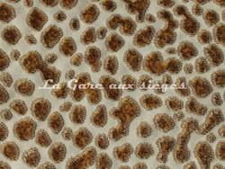 Tissu Nobilis - Velours Fakir - réf: 10570-02 - Coloris: Canne de sucre - Voir en grand