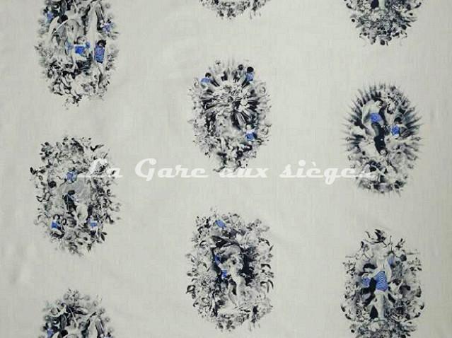 Tissu Jean Paul Gaultier - Moussaillon - réf: 3448-01 Noir - Voir en grand