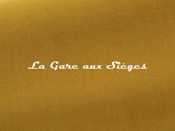 Tissu Pierre Frey - Gaspard - réf: F3070.020 Moutarde - Voir en grand