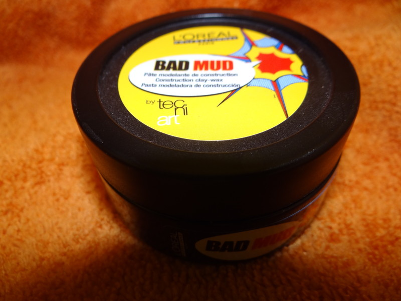 bad mud - pâte modelante  pour un look coiffé  /décoiffé - EMMANUELLE COIFFURE - Voir en grand