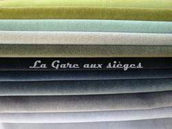 Tissu Nobilis - Velours Otello - Palette de couleur n°4 - Voir en grand