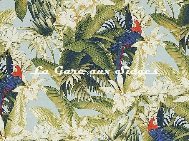 Tissu Pierre Frey - Vahiné - réf: F3365.001 Tropical ( détail ) - Voir en grand