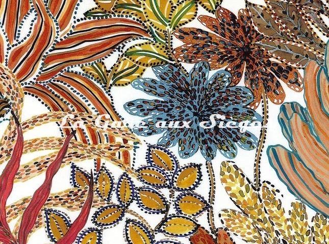 Tissu Casamance - Paradou - réf: 4234.0100 - Voir en grand