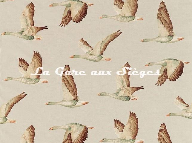 Tissu Sanderson - Elysian Geese - réf: 226518 Briarwood - Voir en grand