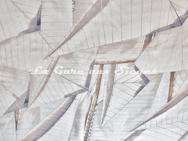 Tissu Pierre Frey - Panaréa - réf: F2892.001 Naturel - Voir en grand