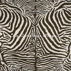 Tissu House of Hackney - Equus coton/linen - réf: 8715 Cocoa - Voir en grand
