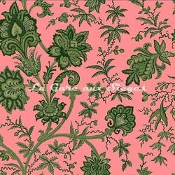 Tissu House of Hackney - Indienne jacquard - réf: 8812 Amaranth - Voir en grand