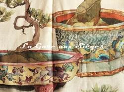 Tissu Pierre Frey - Kyoto - réf: F3335.001 ( détail ) - Voir en grand