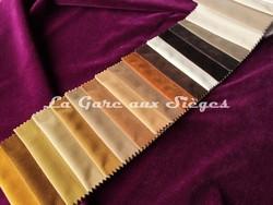 Tissu Carlucci - Velours City Velvet - réf: CA7832 - Palette de couleurs n°2 - Voir en grand