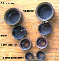 cuir de pompe calotte pour pluvérisateur à dos - Voir en grand