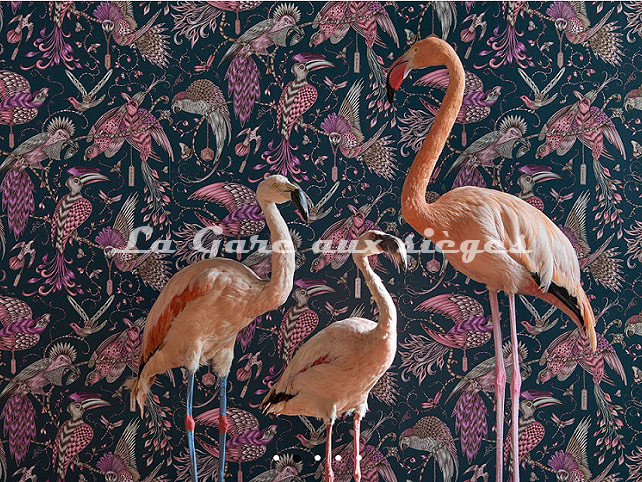 Papier peint Clarke & Clarke - Audubon - Voir en grand