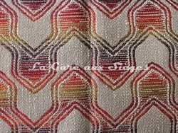 Tissu Deschemaker - Léon - réf: 103973 Multicolore - Voir en grand