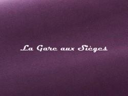 Tissu Pierre Frey - Gaspard - réf: F3070.22 Figue - Voir en grand