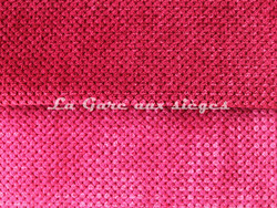 Tissu Chanée Ducrocq - Caviar - Coloris: 109 Garance - 110 Fuchsia - Voir en grand