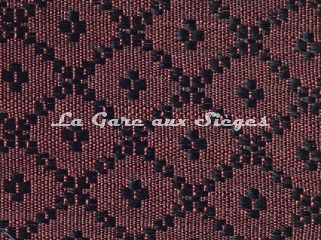 Tissu Le Crin - Nircel - réf: C0204 - Coloris: 051 Rouge noir - Voir en grand