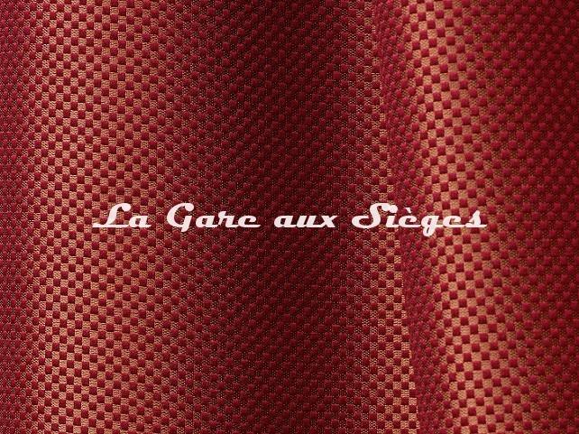 Tissu Tassinari & Châtel - Da Vinci - réf: 1692.05 Rubis - Voir en grand
