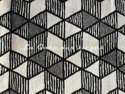 Tissu Deschemaker - Bergen - réf: 103887 - Coloris: Zinc - Voir en grand