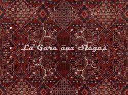 Tissu House of Hackney - Velours Mey Meh - Coloris: Red - Voir en grand