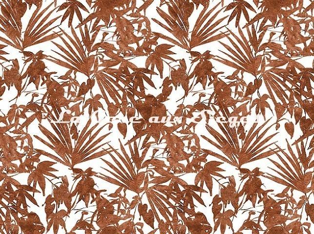 Tissu Rubelli - Home Jungle - réf: 30409.003 Cotto - Voir en grand