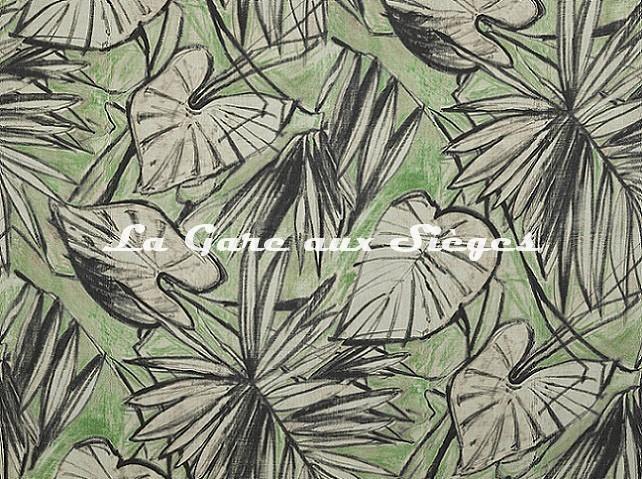 Tissu Pierre Frey - Water Lily - réf: F3548.001 Végétal - Voir en grand