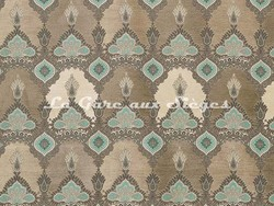 Tissu Osborne & Little - Haveli - réf: F6947-01 Linen/Ivory/Pale/Jade