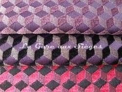 Tissu Osborne & Little - Ravenna Chenille - réf: F6140 - Coloris: 01 - 02 - 03 - Voir en grand