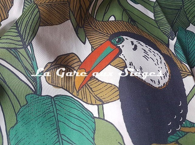 Tissu Casamance - Talamanca - réf: 4075.0117 ( détail ) - Voir en grand