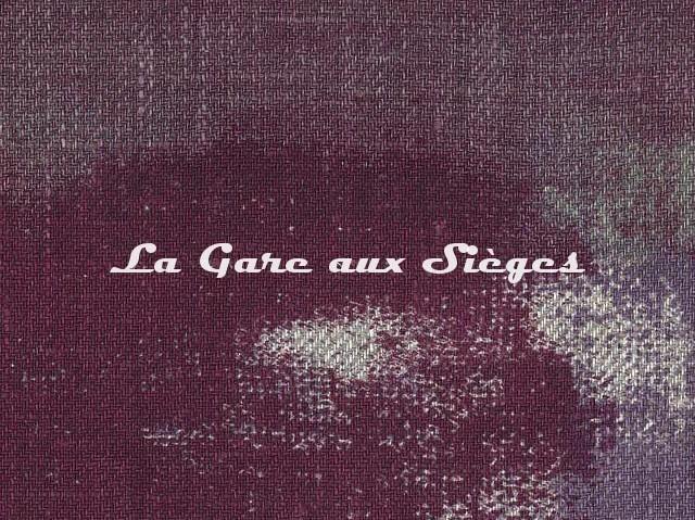 Tissu Dominique Kieffer - Tache Toile - réf: 17228-04 - Coloris: Violet - Voir en grand