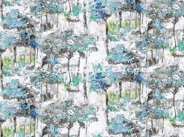 Tissu Casal - Van Gogh - réf: 30395 - Coloris: 14 Saphyr - Voir en grand