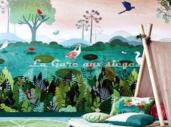 Papier peint Villa Nova - Dusky Amazon - Voir en grand