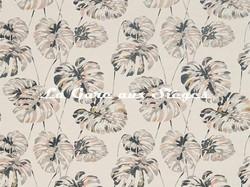 Tissu Harlequin - Kelapa - réf: 132648 Charcoal/Blush