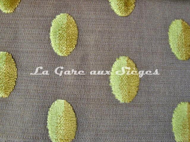 Tissu Casal - Beaubourg - réf: 12656 - Coloris: 30 Vert pomme - Voir en grand