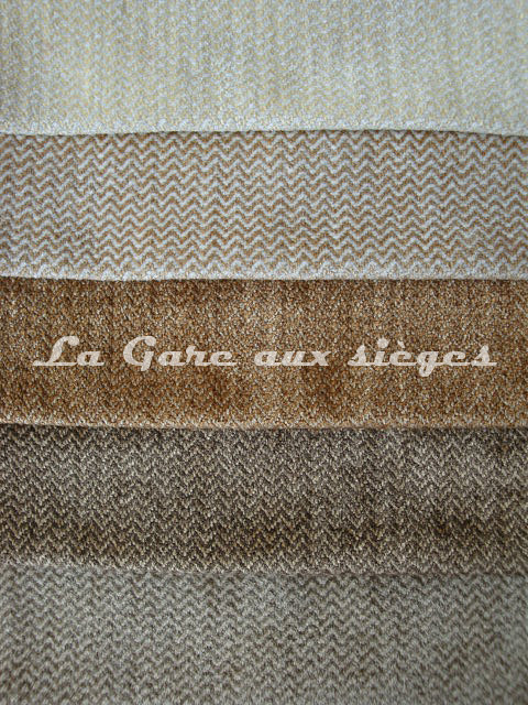 Tissu Bélinac - Bastide - réf: 1290 - Coloris: 01 - 02 - 03 - 04 - 05 - Voir en grand