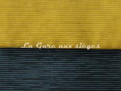 Tissu Luciano Marcato - Anima - réf: LM19524 - coloris: 30 Oliva & 16 Pétrolio - Voir en grand