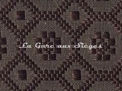 Tissu Le Crin - Christiane 230 - réf: C0230 - Coloris: 100 Marron - Voir en grand