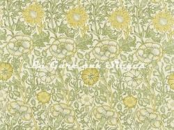 Tissu William Morris - Pink & Rose - réf: 222530 Cowslip/Fennel - Voir en grand