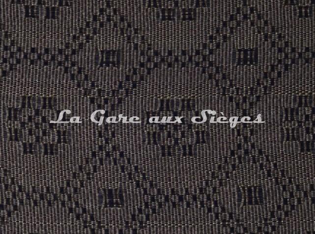 Tissu Le Crin - Gaël 30 - réf: C0030 - Coloris: 030 Châtaigne Noir - Voir en grand