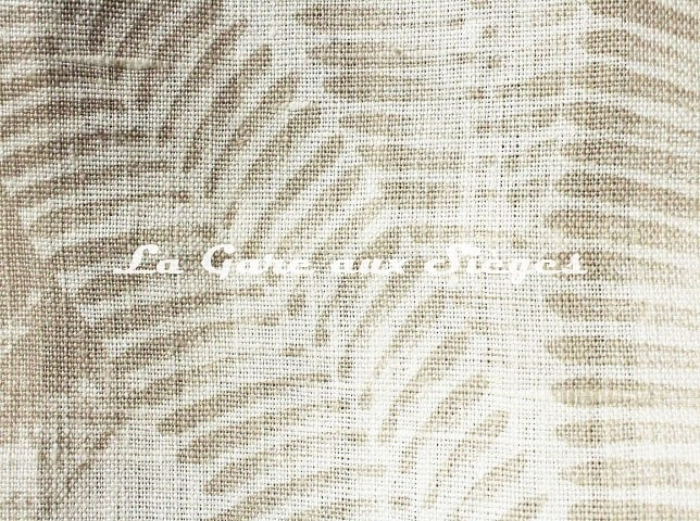 Tissu Casamance - Kristen Garden - réf: 4747.0134 ( détail ) - Voir en grand