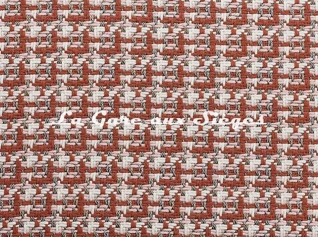 Tissu Dedar - Chérie - réf: T15028.004 Rosa - Voir en grand