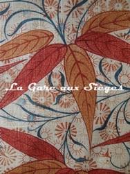 Tissu William Morris - Bamboo - réf: 222527 Russet/Siena ( détail ) - Voir en grand