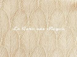 Tissu Pierre Frey - Palmette - réf: F3095.001 Poudre - Voir en grand