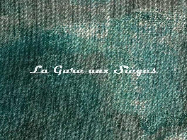 Tissu Dominique Kieffer - Tache Toile - réf: 17228-03 - Coloris: Forest - Voir en grand