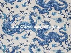 Tissu Jim Thompson - Panlong - réf: J3668/003 Chinese Porcelain
