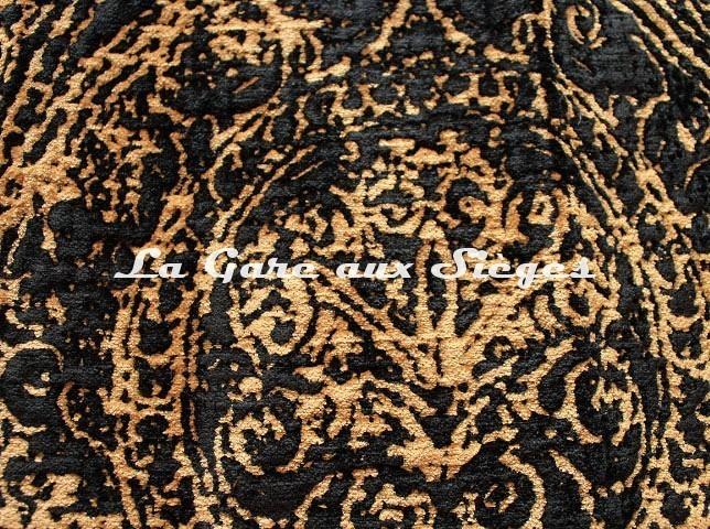 Tissu GP & J.Baker - Wolsey - réf: BF10654.5 Bronze/Ebony - Voir en grand