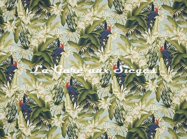Tissu Pierre Frey - Vahiné - réf: F3365.001 Tropical - Voir en grand