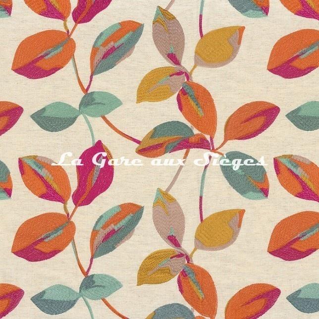 Tissu Camengo - Magie - réf: 4640.0409 Fuschia - Voir en grand