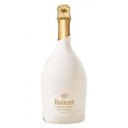 Ruinart Blanc de Blancs étui Seconde Peau - CHAMPAGNE - Charpentier Vins - Voir en grand