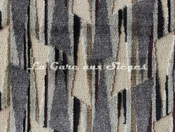 Tissu Deschemaker - Palmira - réf: 103981 Ardoise - Voir en grand