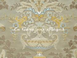 Tissu Tassinari & Châtel - Verdi - réf: 1683.01 Argent - Voir en grand
