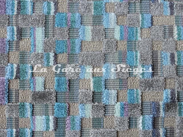 Tissu Deschemaker - Bogota - réf: 103979 Océan - Voir en grand